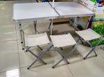 Раскладной стол + 4 стульчика